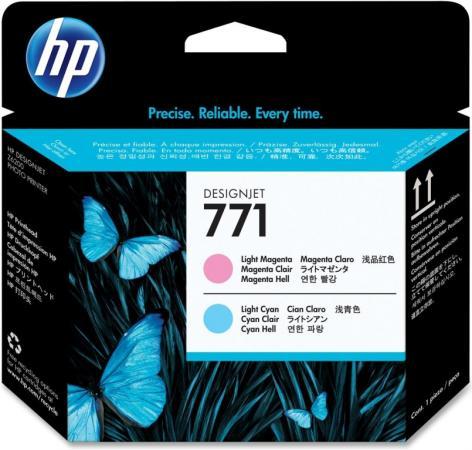Печатающая головка HP 771 светло-голубая/светло-пурпурная Designjet оригинальная