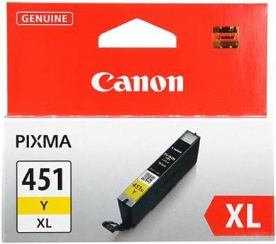 Картридж Canon Ink CLI-451XLY желтый оригинальный