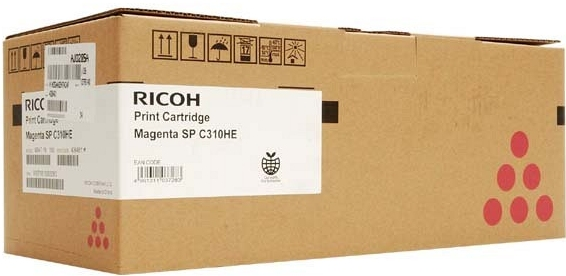 Принт-картридж SPC310HE для Ricoh LE малиновый
