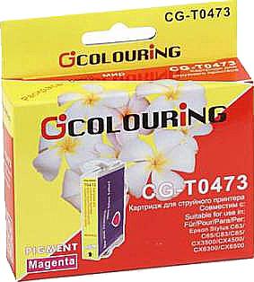 Картридж совместимый Colouring 047340 для Epson пурпурный