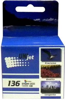 Картридж совместимый Unijet C9361 цветной (136) для HP