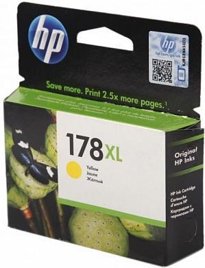 Картридж HP CB325HE желтый оригинальный