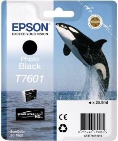 Картридж Epson C13T76014010 фото черный оригинальный