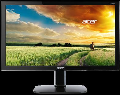 "Монитор 24"" Acer KA240HBID Black"