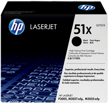 Картридж Q7551XC для HP
