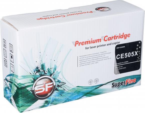 Картридж совместимый SuperFine CE505X для HP