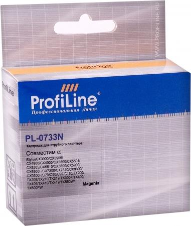 Картридж совместимый ProfiLine 0733N для Epson пурпурный