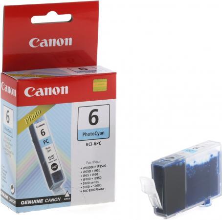 Картридж CANON BCI-6PC фото голубой оригинальный