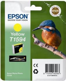 Картридж EPSON T15944010 желтый оригинальный (В ТЕХНОЛОГИЧЕСКОЙ УПАКОВКЕ)