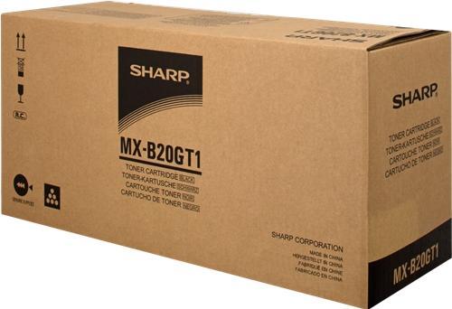 Картридж Sharp MXB20GT1 черный оригинальный