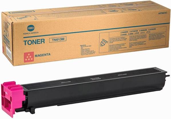 Тонер-картридж Konica Minolta TN-613M пурпурный оригинальный