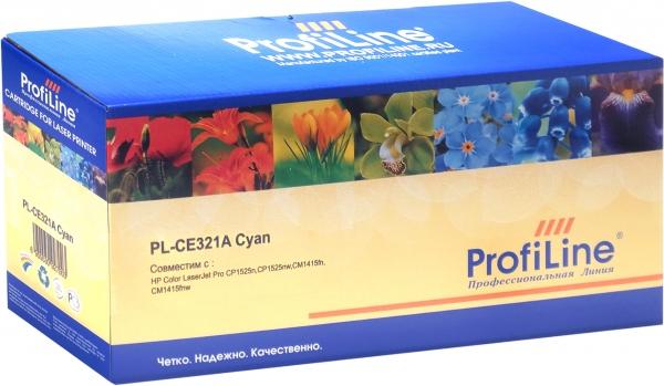 Картридж совместимый ProfiLine CE321A Cyan для HP