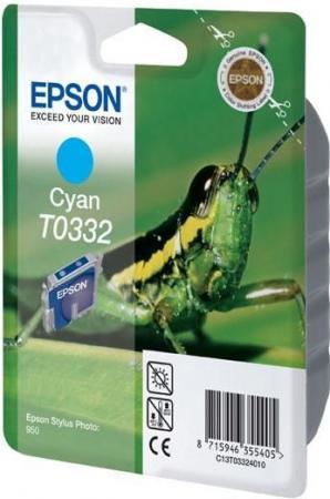 Картридж EPSON T033240 голубой оригинальный