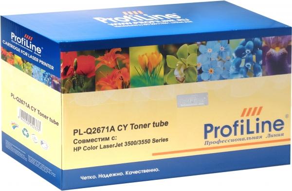 Картридж совместимый ProfiLine Q2671A Cyan для HP