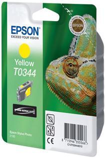 Картридж EPSON C13T03444010 желтый оригинальный
