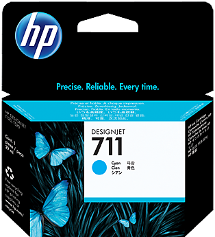 Картридж HP CZ130A голубой