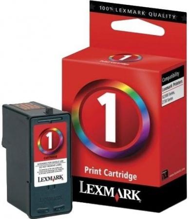 Картридж Lexmark №1 цветной оригинальный