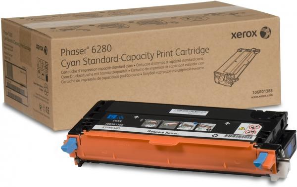 Картридж Xerox 106R01388 голубой оригинальный