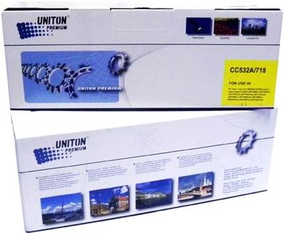 Картридж совместимый UNITON Premium CC532A (304А) / 718Y желтый для HP / Canon