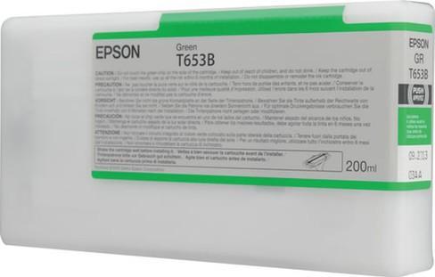 Картридж EPSON C13T653B00 для Stylus Pro 4900 зеленый оригинальный