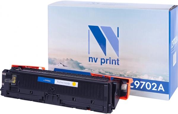 Картридж совместимый NVPrint C9702A для HP желтый