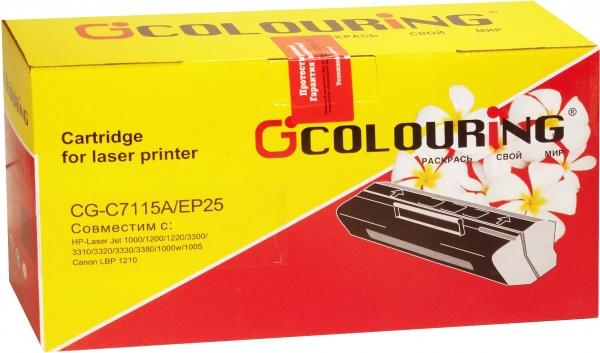 Картридж совместимый Colouring C7115X/EP-25 для HP и Canon
