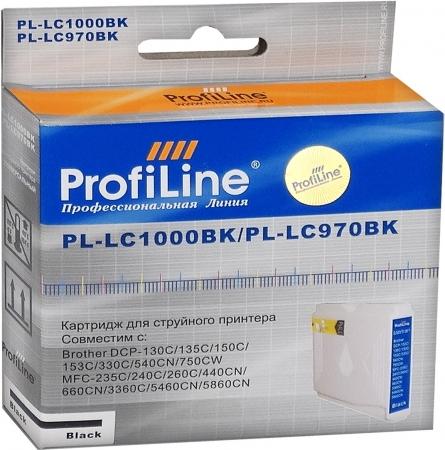 Картридж совместимый ProfiLine LC1000BK/LC970BK для Brother