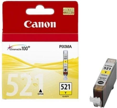 Картридж Canon 521 Y желтый совместимый