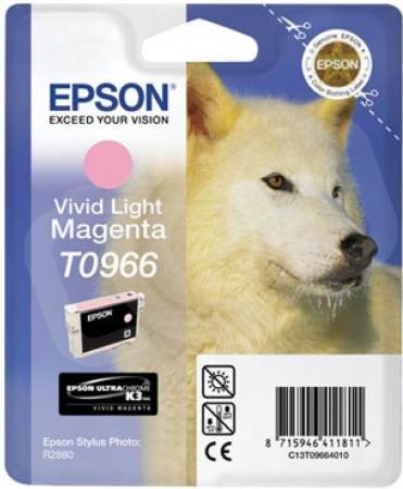 Картридж EPSON T09664010 светло-пурпурный оригинальный