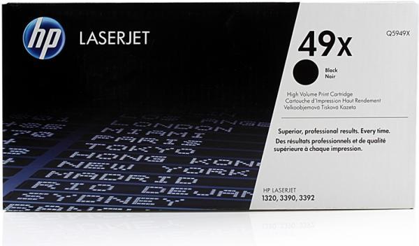 Картридж HP Q5949X черный оригинальный