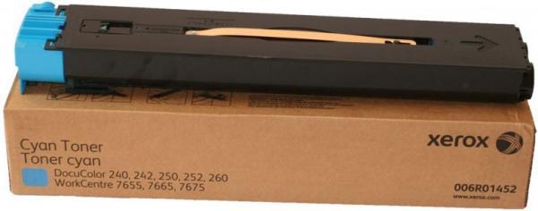 Тонер-туба XEROX 006R01452 голубой оригинальный DIL 2 шт. для Docu Color 240/242/250/252/260