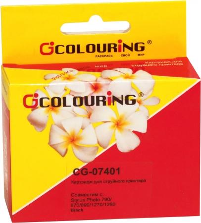 Картридж совместимый Colouring 07401 для Epson черный