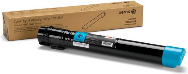 Картридж XEROX 106R01443 голубой оригинальный