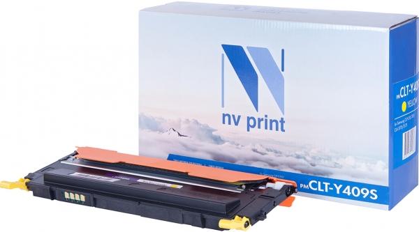 Картридж совместимый NV Print CLT-Y409S желтый для Samsung