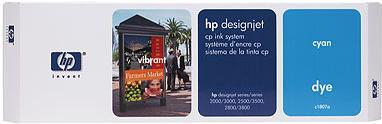 Картридж HP C1807A голубой оригинальный