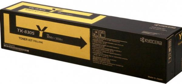 Картридж Kyocera TK-8305Y желтый оригинальный