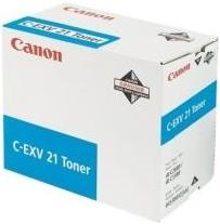 Тонер-картридж Canon C-EXV 21 голубой оригинальный