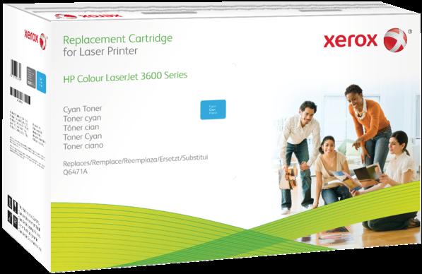 Картридж совместимый Xerox HVD Q6471A для HP голубой