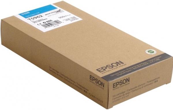 Картридж EPSON T596200 голубой оригинальный