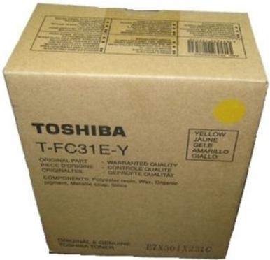 Картридж Toshiba T-FC31EY (6AG00002002) желтый оригинальный