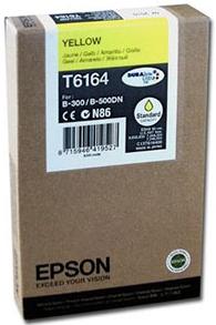 Картридж EPSON T6164 для B-300/310N желтый оригинальный