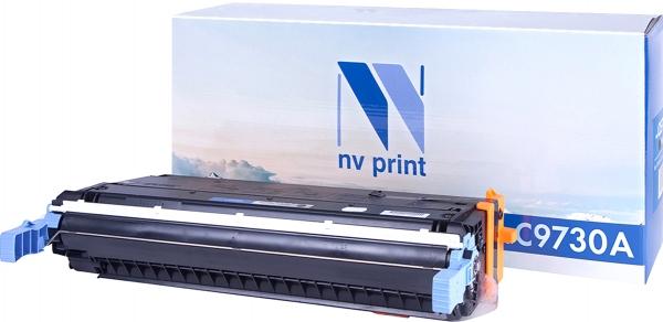 Картридж совместимый NVPrint C9730A для HP черный