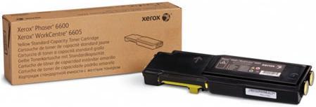 Картридж Xerox 106R02251 желтый оригинальный