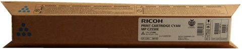 Тонер-картридж MPC2550E для Ricoh голубой