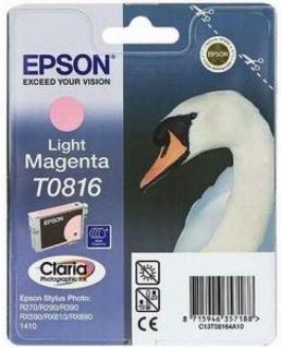 Картридж EPSON T08164A светло-пурпурный оригинальный