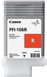 Картридж CANON PFI-106 красный оригинальный