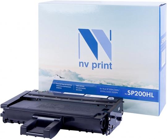 Картридж совместимый NVP SP200HL для Ricoh