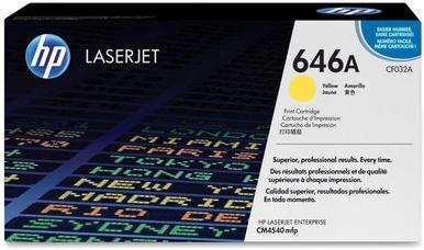 Картридж HP CF032A желтый совместимый NV Print