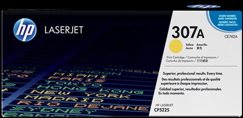Картридж HP CE742A желтый совместимый UNITON Eco