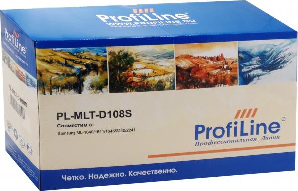 Картридж совместимый ProfiLine MLT-D108S для Samsung